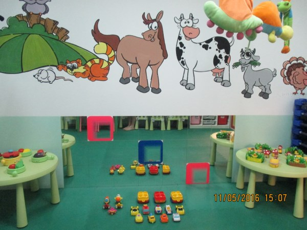 A range of suitable, safe and stimulating toys to develop little minds
