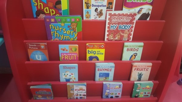 Book corner - Early reading skills