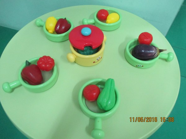 Cooking equipment, fruits and vegetables