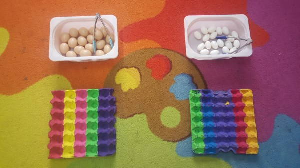 Fun developing fine motor skills
