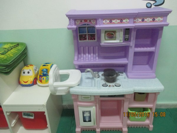 Home corner cooking station
