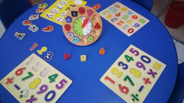 Jigsaws with a focus on base math skills