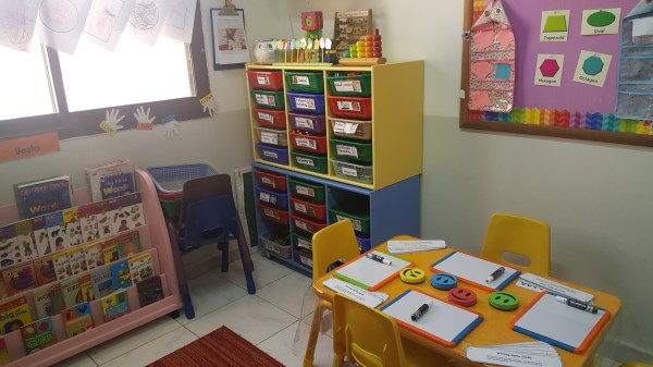 Reading and writing zone