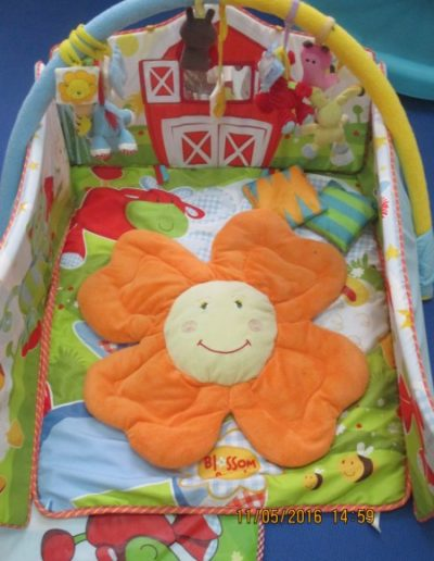 Safe, soft, sensory and stimulating toys