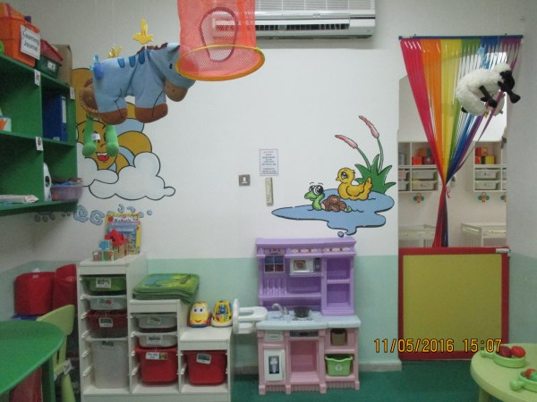 Storage for a wide range of toddlers resources