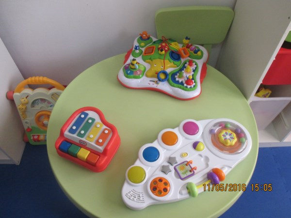 Toys that make noise!