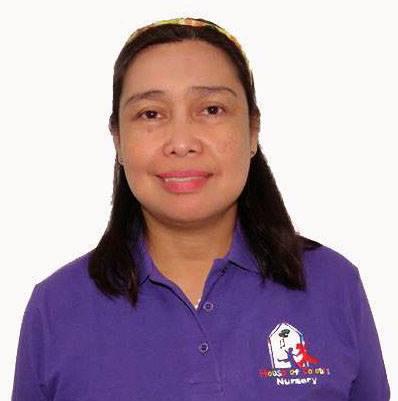 Imelda Galvinez Dy - Floor Supervisor