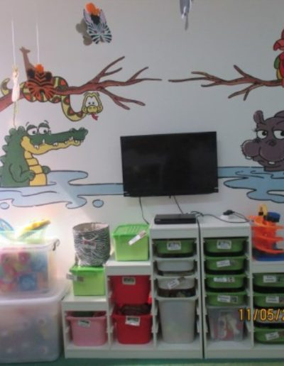 Jungle theme room, resources for hands on learning