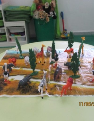 Table top activities - farm animals